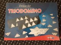 Dominoes game triodomino, NEW boxed sealed! New style game, or other puzzles, children's games too!
