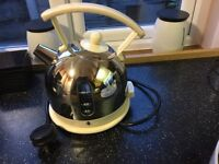 Duilit Chrome and Cream Dome Kettle