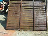 USED FENCING PANELS