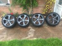 BMW alloys/tyres 19,from my 6series high quality both