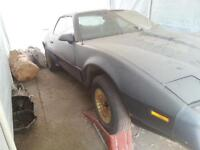 selling my trans am as a project