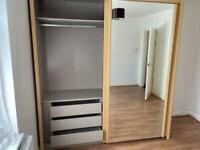 Double sliding wardrobe