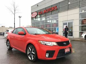 2012 Kia FORTE KOUP SX LEATHER SUNROOF ALLOYS BLUETOTH HEATED SE