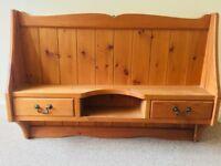 Wooden Shelving unit (Excellent Condition)