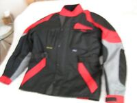 Motor-cyclists Premier Waterproof jacket. Size Large