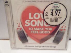 Love songs To make You Feel Good. Used