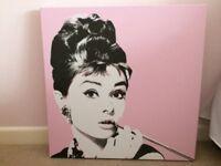 Audrey Hepburn Classic Canvas