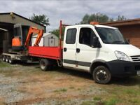 SD Contracts - groundwork, digger hire, builder, landscaping