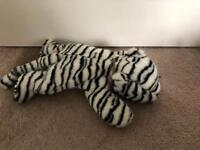 Beanie Baby Large TY White tiger