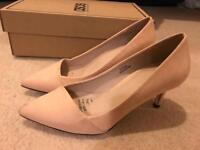 ASOS light pink high heel size 2