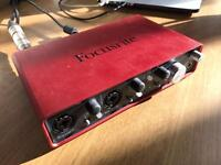 Focusrite Audio Engineering Scarlett 2i4 External Audio Interface Soundcard
