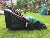 Lawnmower - good working order, suitable for small areas of grass. Pick up only