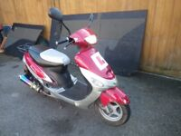 50cc Scooter for sale good working order, new MOT