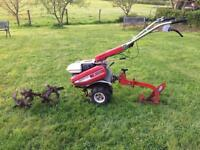 Honda Rotavator F410 with plough