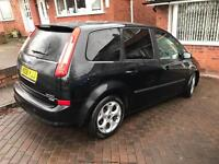 FORD C-MAX 1.6 TDCI FACELIFT BLACK 2008 ONLY 2 PREVIOUS OWNERS MAY SWAP MESSAGE ME