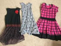 Bundle of Girls Dresses- ages 8-10 years
