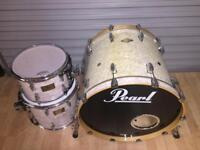 Pearl Masters in white marine pearl £295