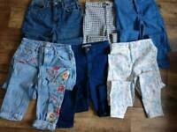 Ladies/girls topshop jeans Bundle waist 28