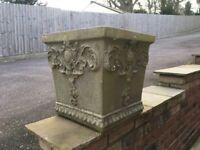 Stone Planter Plant Pot