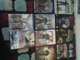 bundle of dvds £4