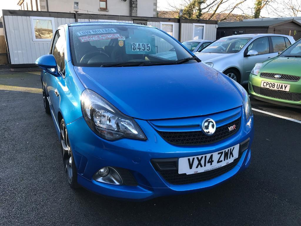 ***CORSA VXR ARDEN BLUE 2014 ONLY 29,000 MILES IMMACULATE IN & OUT***