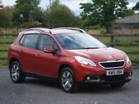2015 PEUGEOT 2008 1.6 HDI ACTIVE **IMMACULATE THROUGHOUT**
