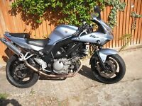 Suzuki SV650 SK6 Fitted 35KW Restriction kit mot to April 2018