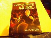 Edward Heath Music. signed copy