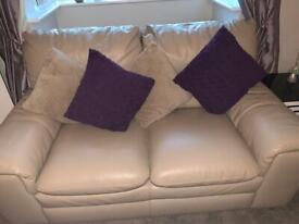 Dfs leather sofas bargain