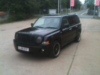 58 PLATE JEEP 4X4 PATRIOT 2.4 SPORT 76000MILES £3975
