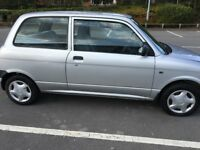 Daihatsu Cuore in Silver. Two Door Hatchback
