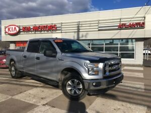 2016 Ford F-150 XLT 4X4 SUPERCREW, LOW KMs, ONLY $220 bi-weekly!