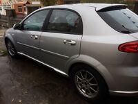 2006 Chevrolet Lacetti Sport,INDOOR SHOWROOM, 5 Door Hatchback silver, nice condition full leather