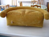 Inflatable camping pillow/cushion