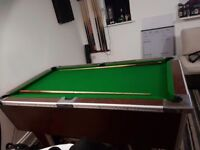 6ft x 3.5ft pool table for sale