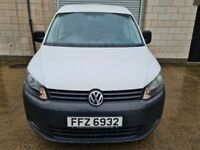 2011 VOLKSWAGEN CADDY TDI. FULL STAMPED SERVICE HISTORY. LADY OWNED .IMACULATE £4250