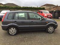 CHEAP CAR!! FORD FIESTA FUSION 1.6 PETROL LONG MOT
