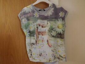 Girls T-Shirt Age 7-8
