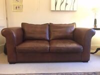 Laura Ashley Bradford Leather 2 seater sofa
