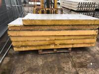 Foil back insulation kingspan/celotex. 6 sheets 8x4 140mm
