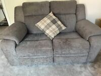 Two seater Power reclining sofa
