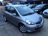AUTOMATIC HONDA JAZZ 2007 SE CV . TOP OF THE RANGE. ONLY 79 K MILES. LONG MOT . SUPERB DRIVE. CHEAP
