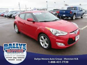 2012 Hyundai Veloster Back-Up! Heated! Alloy! ONLY 41K!