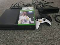Xbox one with gaming chair