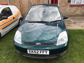 Ford Fiesta 1.4 only 64000 miles from new