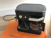 DeLonghi BCO Combi Coffee Espresso Machine with filter and frost