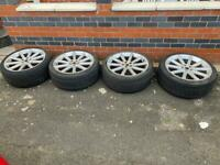 22 inch Range Rover sport alloys