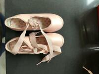 Ballet and tap shoes