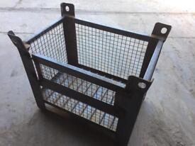 Metal storage crates