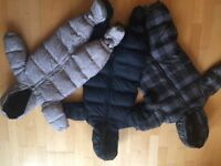 GAP down filled winter suits (6-12m, 12-18m, 18-24m)